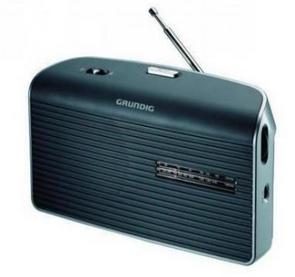 Grundig Radio Music 60 silber grau
