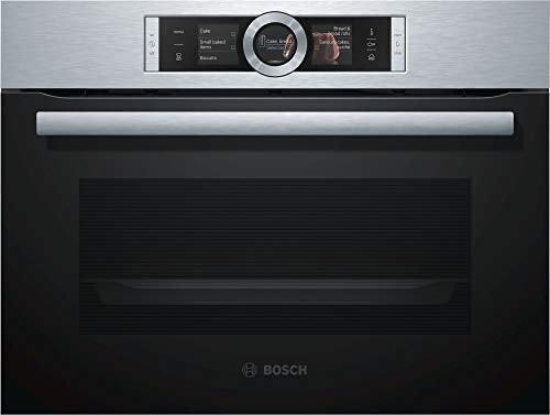 Bosch Einbau-Elektro-Backofen Mit Dampfgarer, CSG636BS3