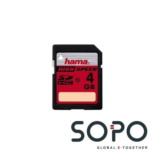 Hama 4GB SDHC 4GB SDHC Speicherkarte