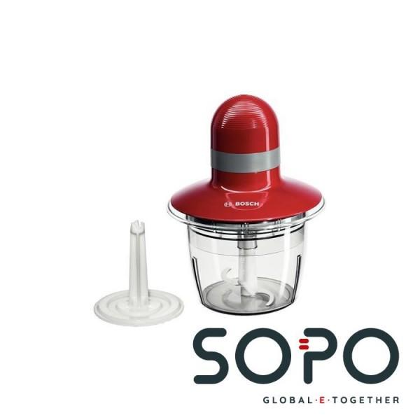 Bosch MMR08R2 0.8l 400W Grau, Rot Elektrischer Essenszerkleinerer