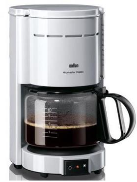 Braun Kaffeemaschine KF47-1Weiss, AKTION!, weiß