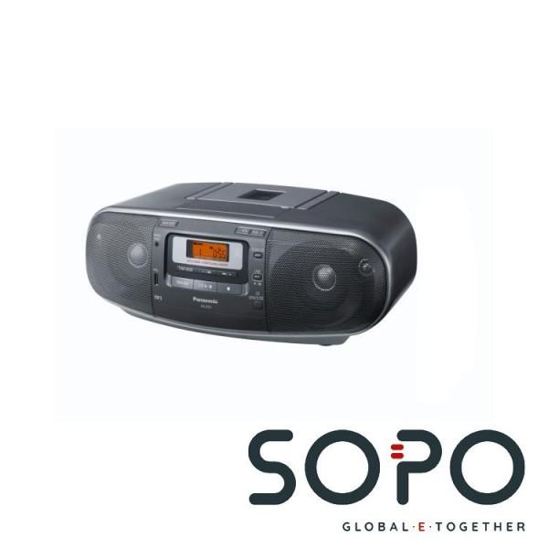 Panasonic RX-D55 20W Grau CD-Radio