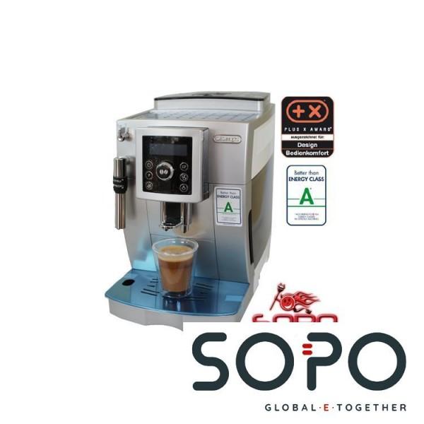 DeLonghi Kaffeevollautomat ECAM 23.420 SW silber-weiß