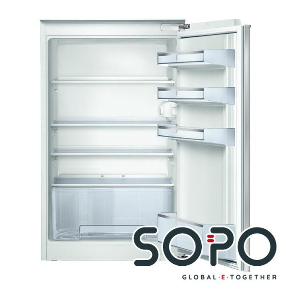 Bosch Serie 2 KIR18V51 Kühlschrank, Eingebaut, Flachscharnier, A+, Weiß