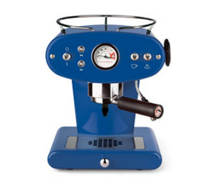 Illy X1 GROUND DUNKELBLAU, Kaffeemaschine