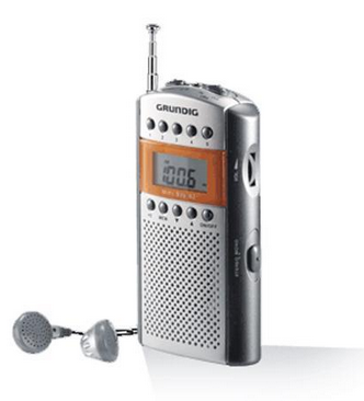 Grundig Miniradio Mini62, silber
