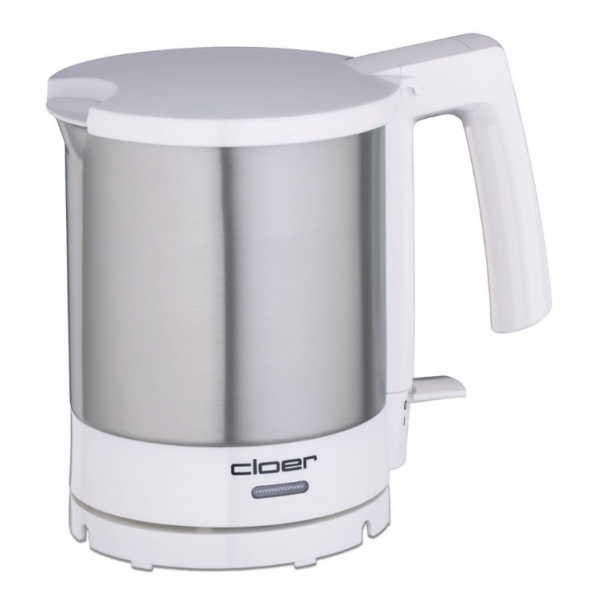 Cloer Wasserkocher 4701, Chrom-weiss