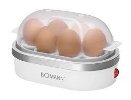 Bomann EK 5022 CB 6eggs 400W Silber, Weiß Eierkocher