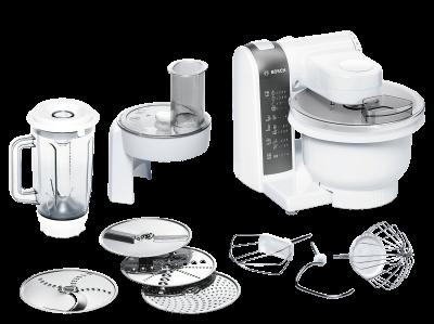 Bosch MUM48020DE 600W 3.9l Weiß Küchenmaschine