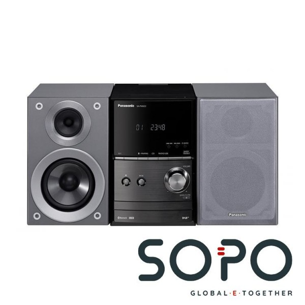 Panasonic SC-PM602 Home audio micro system 40W Silber