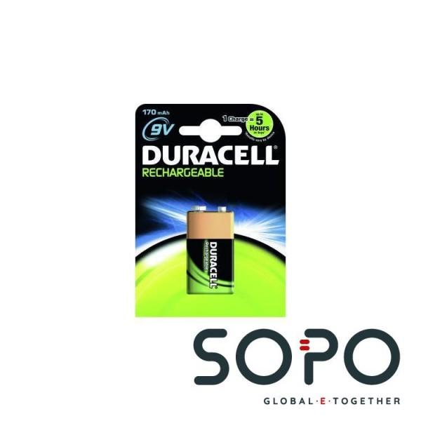 Duracell HR22-HR9 Accu 170 mAh