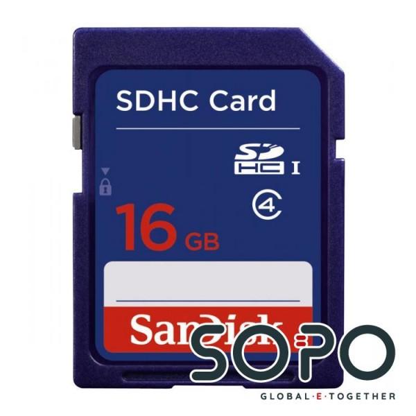 Sandisk SDHC 16 GB 16GB SDHC Klasse 4 Speicherkarte
