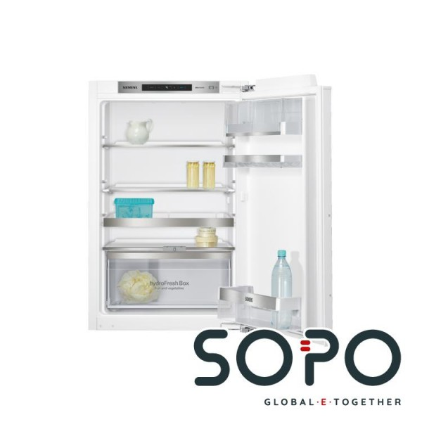 Siemens iQ500 KI21RAD40 Einbau-Kühlschrank, Flachscharnier-Technik, 88 x 56 cm, 144 l, A+++, weiß