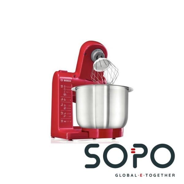 Bosch MUM44R1 500W 3.9l Rot Küchenmaschine