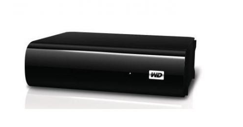 Western Digital 1TB Festplatte,AV-TV, Western Digital My Book schwarz