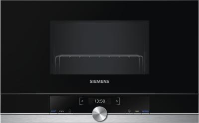 Siemens Mikrowelle BE634LGS1 Einbau 60cm