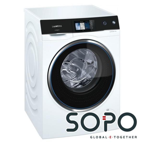 Siemens WM14U940EU Waschmaschine Freistehend Frontlader 10kg 1400RPM A+++ Schwarz, Weiß