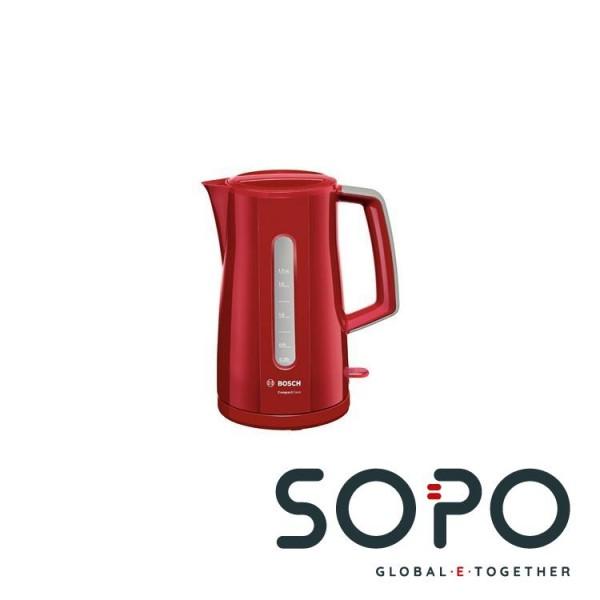 Bosch TWK3A014 1.7l 2400W Rot Wasserkocher