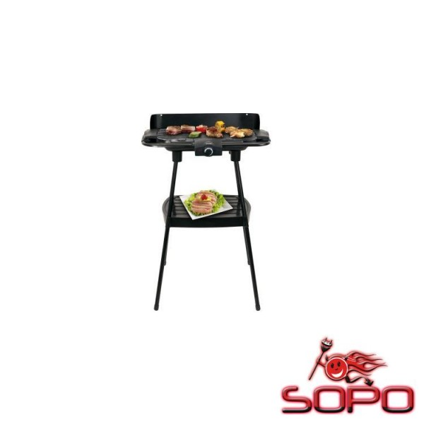 Trisa Electronics 7534.4245 Grill Elektro 2000W Schwarz Barbecue &amp, Grill