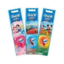 Braun Ersatzbürste 746249, für Kinder 2er,Oral B,Stages
