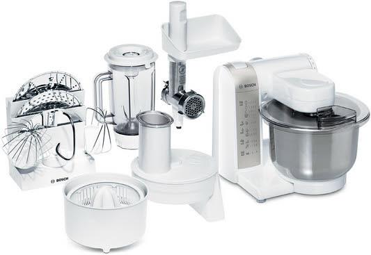 Bosch MUM4880 600W Weiß Küchenmaschine
