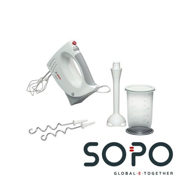 Bosch MFQ3540 Handmixer 450W Grau, Weiß Mixer
