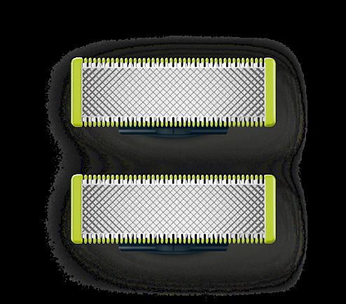 Philips Ersatzklingen QP220 50 Oneblade 2er Pack