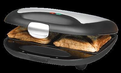 Rommelsbacher ST 710 700W Schwarz, Silber Sandwich-Toaster