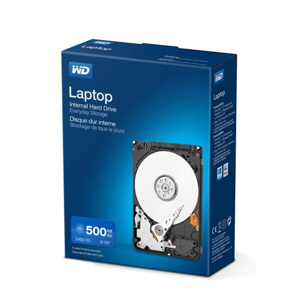 Western Digital Laptop Everyday 500GB Serial ATA II Interne Festplatte