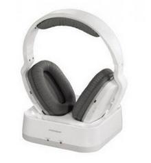Hama WHP3311W Weiß Ohraufliegend Kopfband Kopfhörer