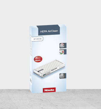 Miele HEPA AirClean Filter mit Timestrip SFHA50