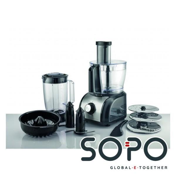Gorenje Sb800b 800w 1 5l Schwarz Edelstahl Kuchenmaschine Sopo