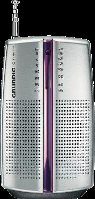 Grundig CITY BOY 31 Tragbar Analog Silber Radio