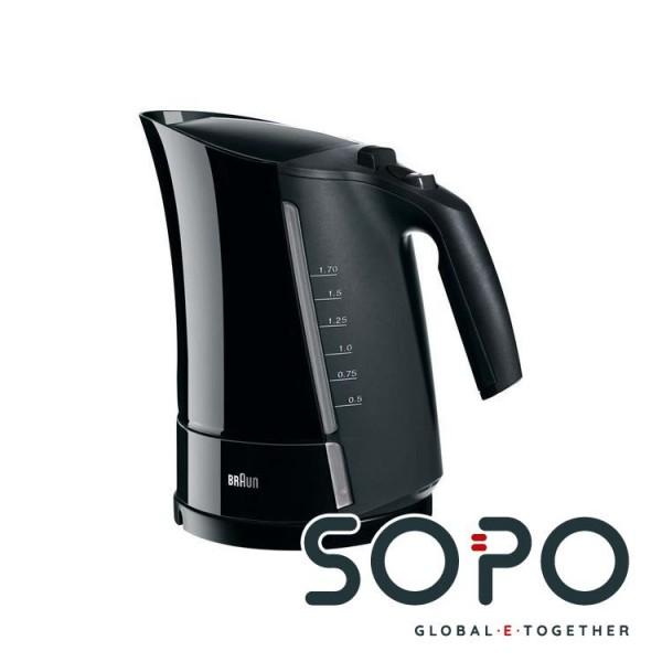 Braun Wasserkocher WK300,schwarz,