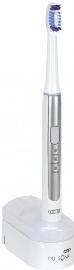 Oral-B Pulsonic Slim Erwachsener Ultraschall-Zahnbürste Blau, Silber, Weiß
