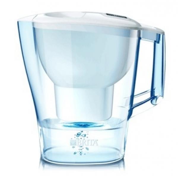 Brita Tischwasserfilter Wasserfilter Aluna weiss
