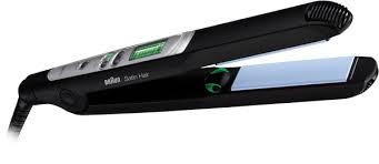 Braun Haarglätter Satin Hair ST710,ES2, schwarz