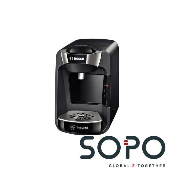 Bosch TAS3202 Freistehend Halbautomatisch Pad-Kaffeemaschine 0.8l Schwarz Kaffeemaschine