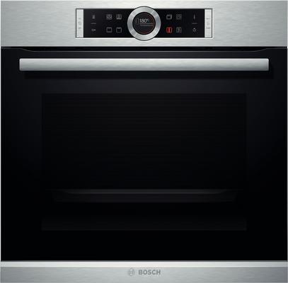 Bosch HBG632TS1 Einbau-Backofen 71l A Edelstahl Elektrischer Ofen Serie 8