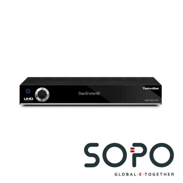 TechniSat 0100-4757 SW UHD-4K DIGIT ISIO STC RECEIVER