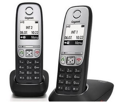 Gigaset A415Duo,Schnurlostelefon 2 Mobilteile